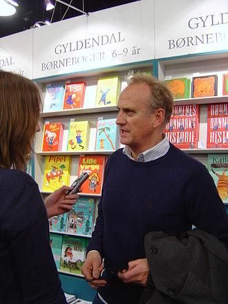 Søren Pilmark - Image: Søren Pilmark Bogforum Forum Copenhagen