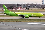 S7 Airlines, VP-BQF, Boeing 737-83N (46020465941).jpg