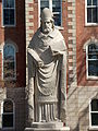 SAU St. Ambrose statue.JPG