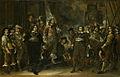 SA 41181-Schets voor een schuttersstuk-Viering van de Vrede van Munster door de schutterij van Jan Huydecoper (voorstudie).jpg