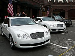 Continental Flying Spur, Continental GT och Arnage.