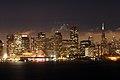SF downtown. Night - panoramio.jpg