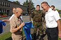 SHAPE soccer team presents jersey to Supreme Allied Commander Europe DVIDS463030.jpg