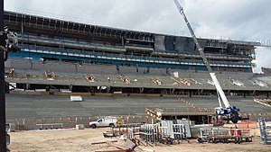 Colorado State Stadium - Under construction in 2016