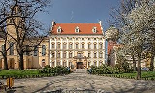 Oława Place in Lower Silesian, Poland