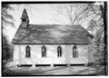 SOUTH SIDE - Christ Episcopal Church, Central Avenue (State Route 52), Rugby, Morgan County, TN HABS TENN,65-RUGBY,1-4.tif