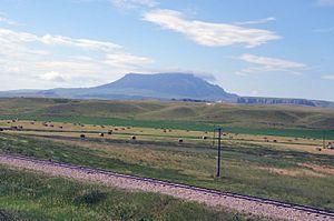 Chouteau County, Montana - Square Butte