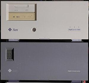 Sun4d - SPARCserver 1000 and SPARCstorage Array