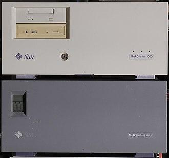 SPARCstation - SPARCserver 1000 and SPARC Storage Array disk array