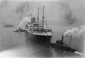 SS Deutschland (1923) - Image: SS Deutschland (1923)