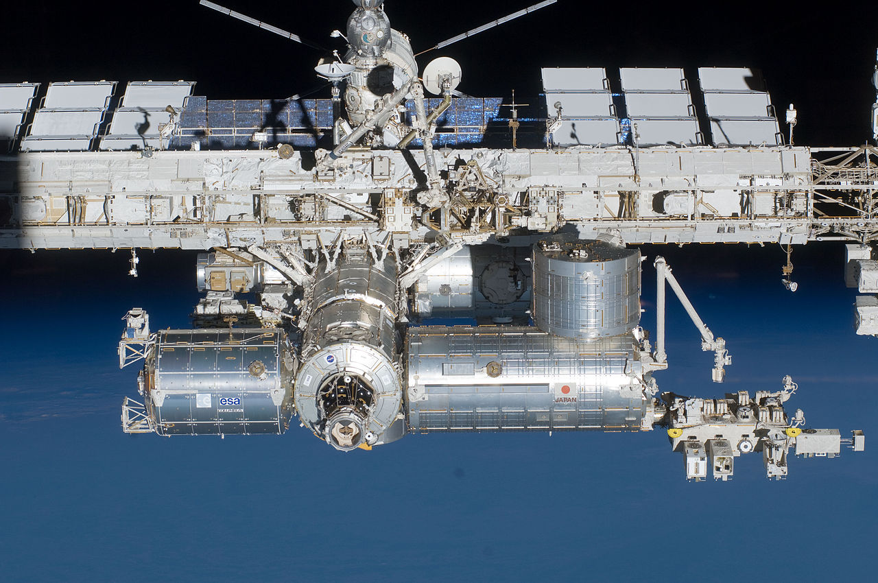 File:STS-134 International Space Station after undocking 4 ...