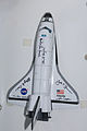 STS-135 Space Shuttle Atlantis model.jpg