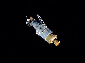 STS-41 Ulysses deployment
