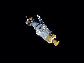 STS-41 - Ulysses after deployment