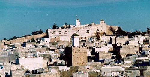 The Alhomad minaret in Safi