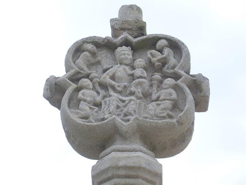 Calvary of Our Lady chapel of Saint-Avé (Morbihan, France)