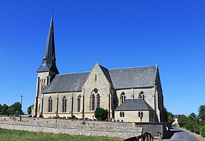 Saint-Aignan-de-Cramesnil - Image: Saint Aignan de Cramesnil église