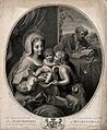 Saint Mary (the Blessed Virgin) and Saint Joseph with the Ch Wellcome V0033898.jpg