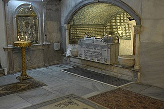 Church of St. Mary of Blachernae (Istanbul) - Image: Saint Mary of Blachernae 8938