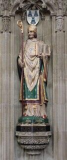 Saint Osmund 11th-century Bishop of Salisbury and saint