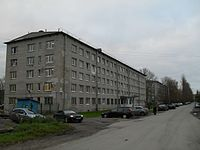 Saint Petersburg State University of Civil Aviation campus in Aviagorodok.jpg