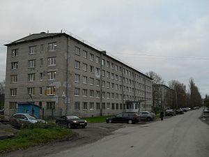 Saint Petersburg State University of Civil Aviation - University campus in Aviagorodok at Pulkovo, Vertoletnaya street
