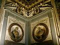 Sala di leone X, Gino Lorenzi, busto di Clemente VII e Alfonso Lombardi, busto di Lorenzo duca di Urbino.JPG