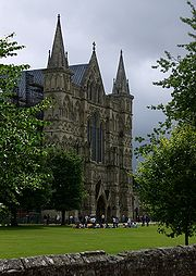 Great West Front of Salisbury Cathedral