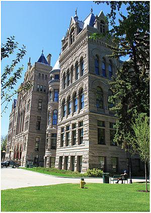 Salt Lake City and County Building - Salt Lake City and County Building Utah USA May 15th 2011