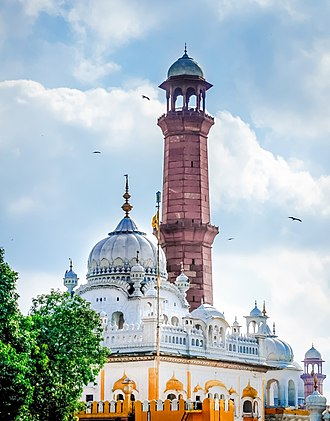 Samadhi - The Samadhi of Ranjit Singh is located next to the iconic Badshahi Masjid in Lahore, Pakistan.
