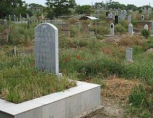 Koryo-saram - Cemetery in Samarkand, Uzbekistan
