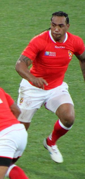 Samiu Vahafolau - France vs Tonga at 2011 Rugby World Cup