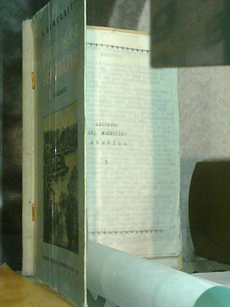 Samizdat - Samizdat in disguised book-binding seen in the Museum of Genocide Victims, Vilnius
