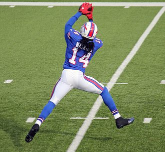 Sammy Watkins (American football) - Watkins catching a pass in 2015