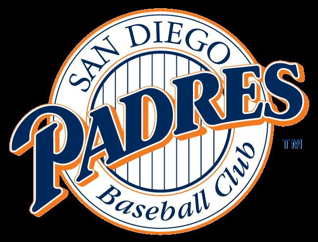 San Diego Padres logo 1992 to 1998