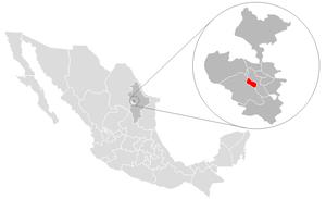 San Pedro Garza García - Image: San Pedro location
