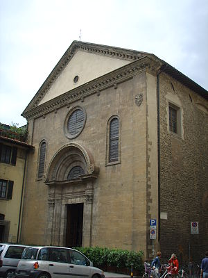 San Felice, Florence - Exterior from the Piazza San Felice.