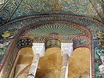San vitale, ravenna, int., presbiterio, mosaici di dx 06.JPG