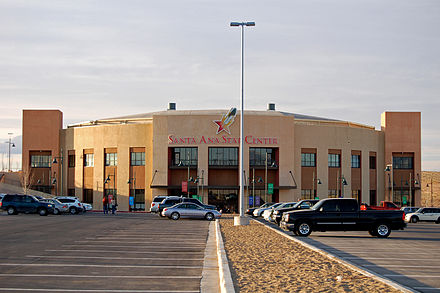 The New Mexico Stars play in the Santa Ana Star Center. Santa Ana Star Center.jpg