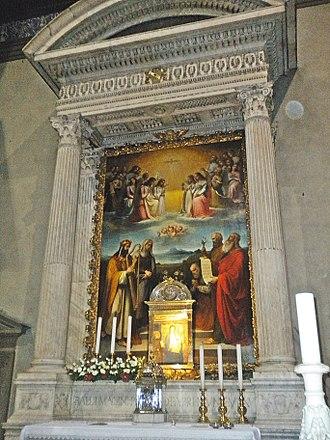 Santa Maria delle Carceri, Prato - Altar