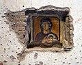 Santa maria antiqua, cappella nell'angolo n-o. con la madonna col bambino, daniele tra i leoni e papa giovanni vii, 705-707, 02.jpg