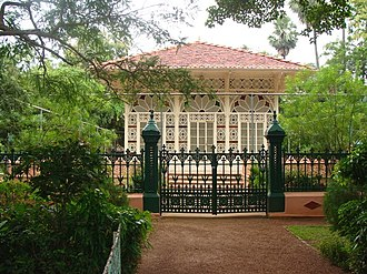 Debendranath Tagore - Upasana Griha, Prayer Hall, built by Debendranath Tagore in 1863, Santiniketan.