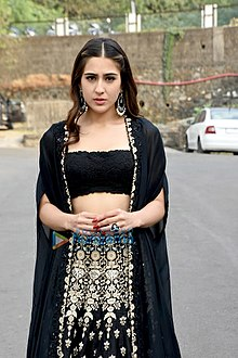 Sara Ali Khan snapped at the Reliance Studio for Kedarnath promotions.jpg