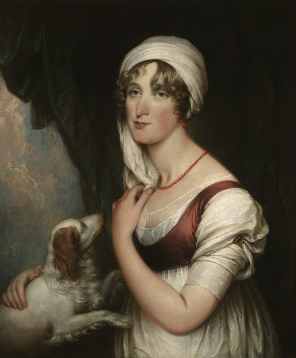 Sarah Trumbull with a Spaniel by John Trumbull.jpeg