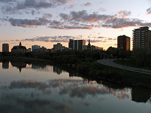Norwegians - 7% of the population in Saskatoon in Canada is of Norwegian ancestry.