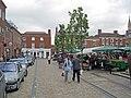 Saturday Country Market at Lichfield - geograph.org.uk - 2210517.jpg