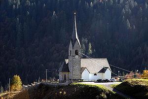 Sauris - the Church of San Lorenzo