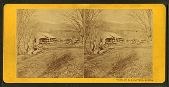 Rumney, New Hampshire - Image: Saw Mill, Rumney, N.H, by Clifford, D. A., d. 1889