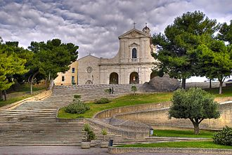 Shrine of Our Lady of Bonaria - Sanctuary of Our Lady of Bonaria, in Cagliari, Sardinia