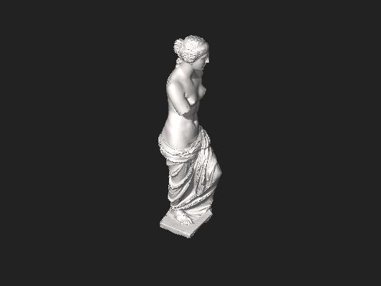 Venus de Milo in 3D